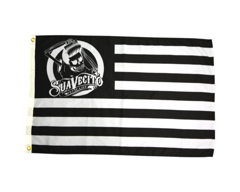 Suavecito Pirate Flag