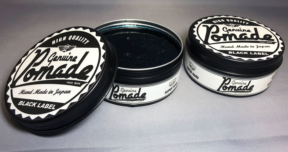 barberz genuine pomade BLACK LABEL