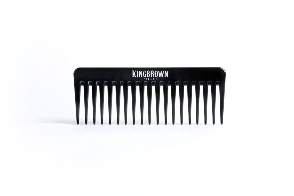 KINGBROWN Black Texture Comb