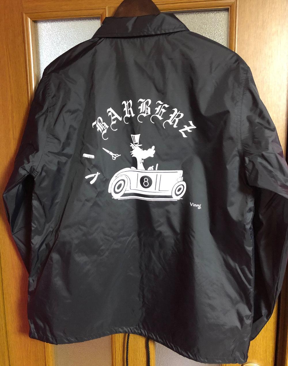 Barberzコーチジャケット 2ndデザイン
