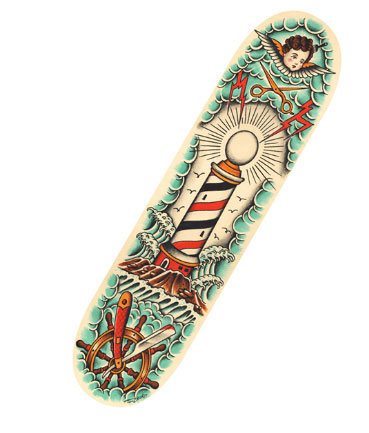 TIPTOP Sketeboard  Tim Beck Skate Deck