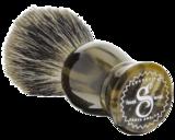 SUAVECITO Tigers Eye Shave Brush